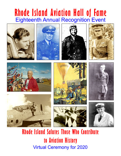 2020 RI Aviation Hall of Fame Booklet