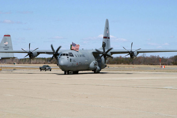 C-130 at Quonset